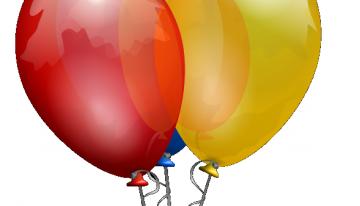 Palloncini che volano … ed è subito festa!